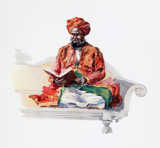 Southern India, Painted and Described - Syed Shah Fakhrud-deen Suf, a Muhammadan Munsh (1914)