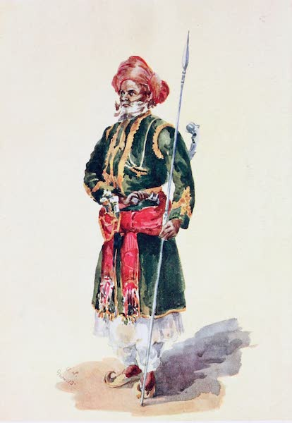 Southern India, Painted and Described - A Muhammadan Officer (1914)