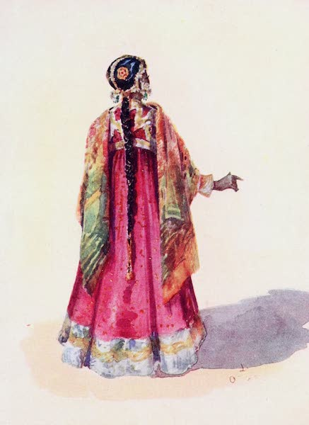 Southern India, Painted and Described - A Muhammadan Lady (1914)