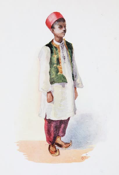 Southern India, Painted and Described - A Muhammadan Boy (1914)