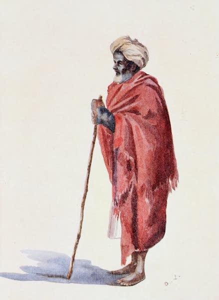 Southern India, Painted and Described - A Hindu Pariah Beggar (1914)