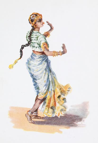Southern India, Painted and Described - A Hindu Dasi or Nautch Girl (1914)