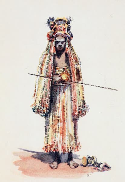 Southern India, Painted and Described - A Devil-Dancer of South India (1914)