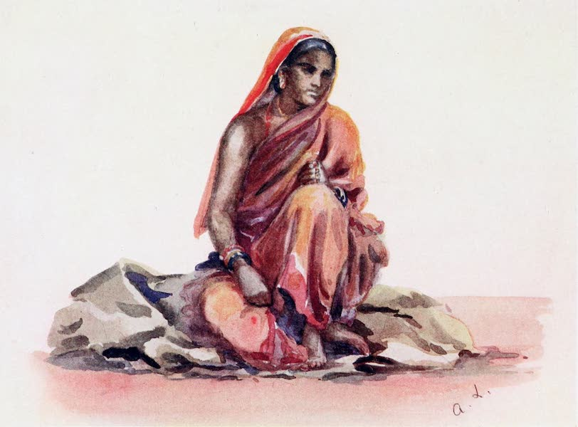Southern India, Painted and Described - A Hindu Woman (1914)