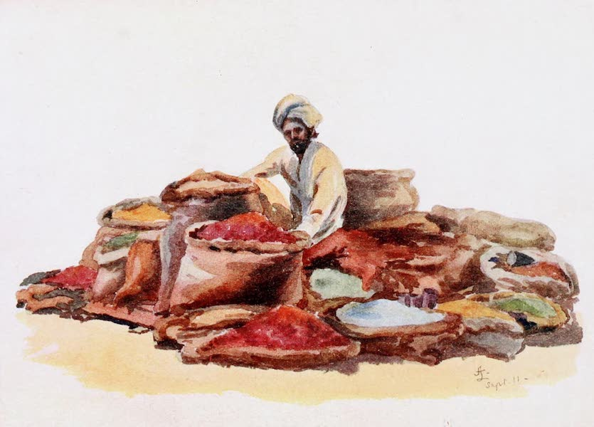 Southern India, Painted and Described - A Corn Merchant (1914)
