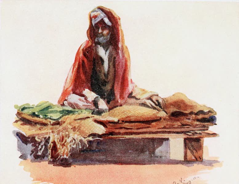 Southern India, Painted and Described - A Betel-Leaf and Areca-Nut Seller (1914)