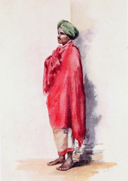 Southern India, Painted and Described - A Barber (1914)