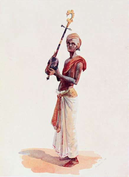 Southern India, Painted and Described - A Hindu Musician (1914)