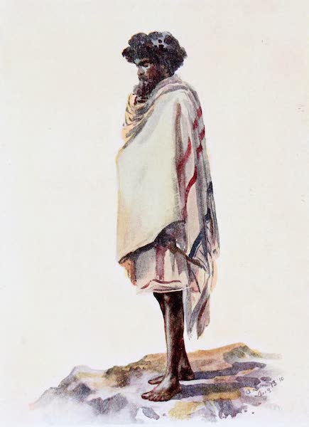 Southern India, Painted and Described - A Man belonging to the Toda Tribe (1914)