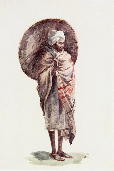 Southern India, Painted and Described - A Man of the Budaga Caste (1914)