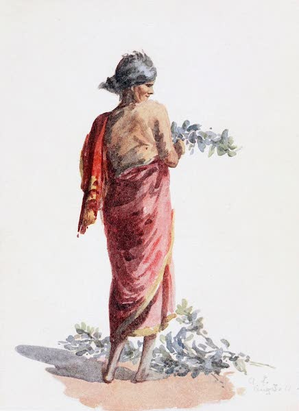 Southern India, Painted and Described - A Tamil Pariah Woman (1914)