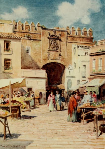 Southern Spain, Painted and Described - Seville - The Aceite Gate (1908)