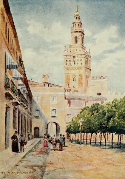 Southern Spain, Painted and Described - Seville - Patio de las Banderas (1908)
