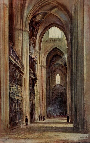 Southern Spain, Painted and Described - Seville - Interior of the Cathedral (1908)
