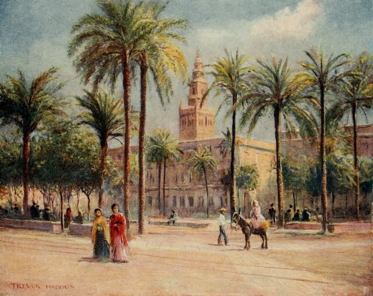 Southern Spain, Painted and Described - Seville - Plaza de San Fernando (1908)