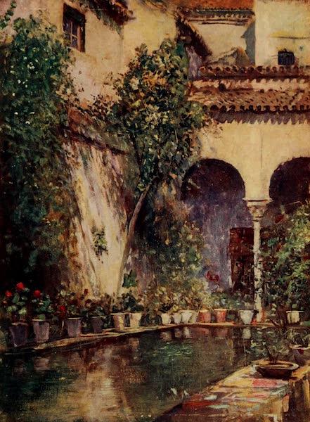 Southern Spain, Painted and Described - Seville - Garden of the Casa de Pilatos (1908)