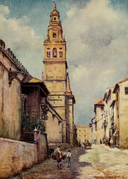 Southern Spain, Painted and Described - Cordova - Calle Cardinal Herrera (1908)