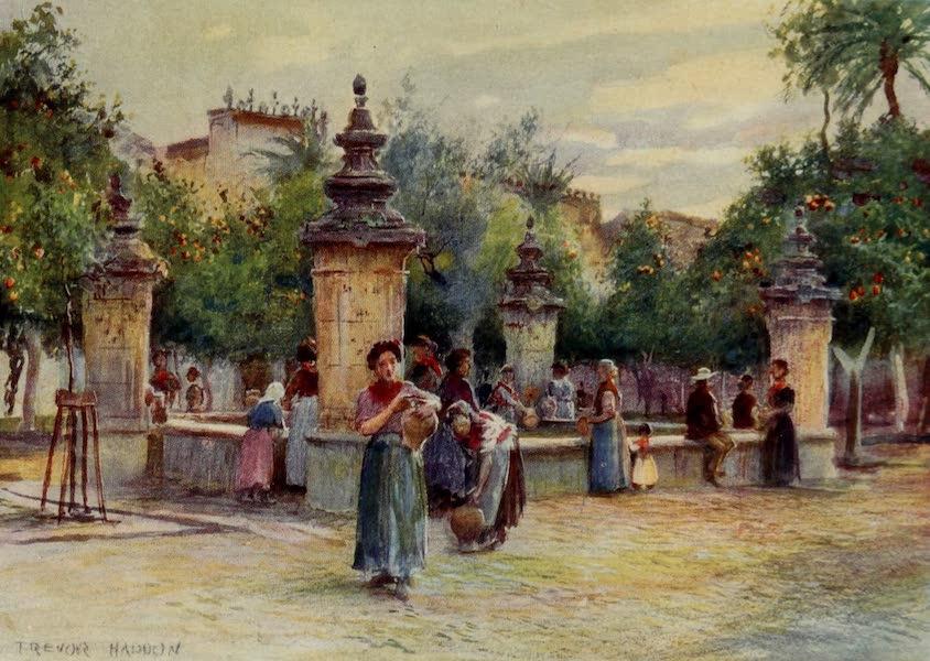 Southern Spain, Painted and Described - Cordova - Patio de los Naranjos (1908)