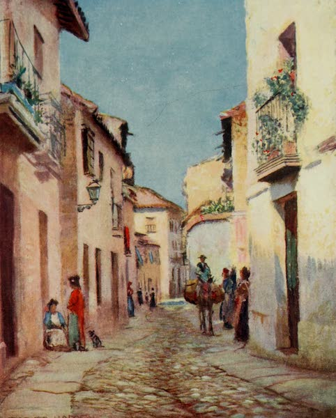 Southern Spain, Painted and Described - Cordova - A Street Scene (1908)