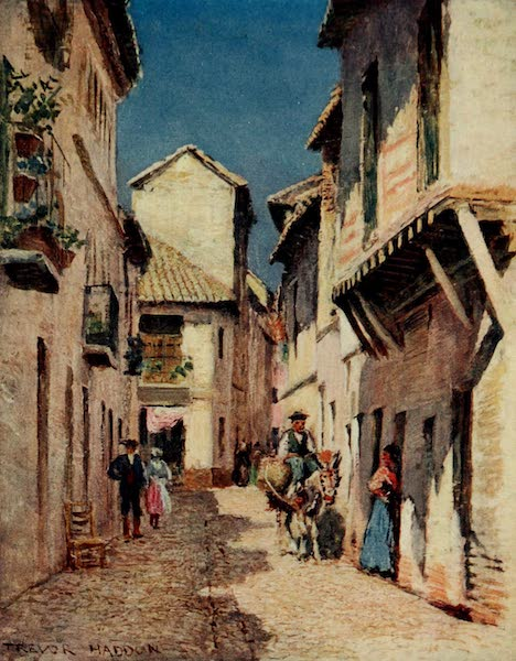 Southern Spain, Painted and Described - Cordova - A Street (1908)