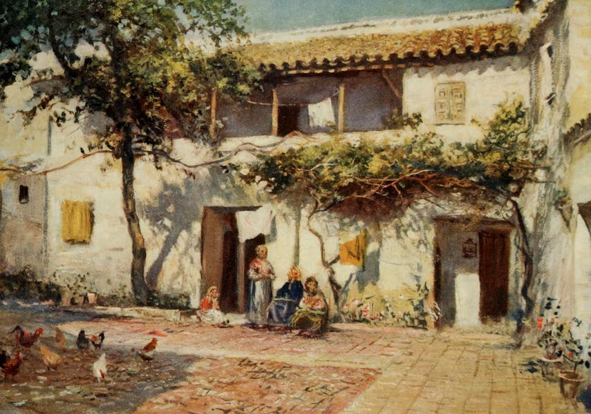 Southern Spain, Painted and Described - Cordova - Old Houses near the River (1908)