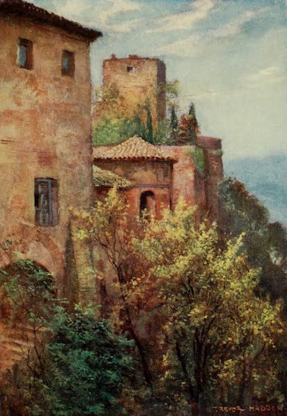 Southern Spain, Painted and Described - Granada - Exterior of the Alhambra (1908)