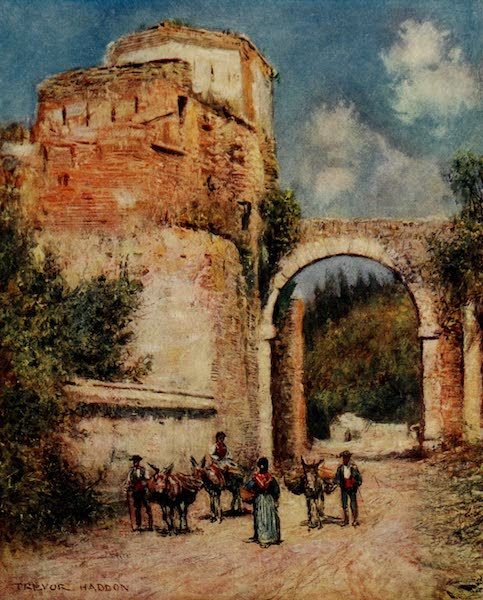 Southern Spain, Painted and Described - Granada - The Alhambra : The Aqueduct (1908)