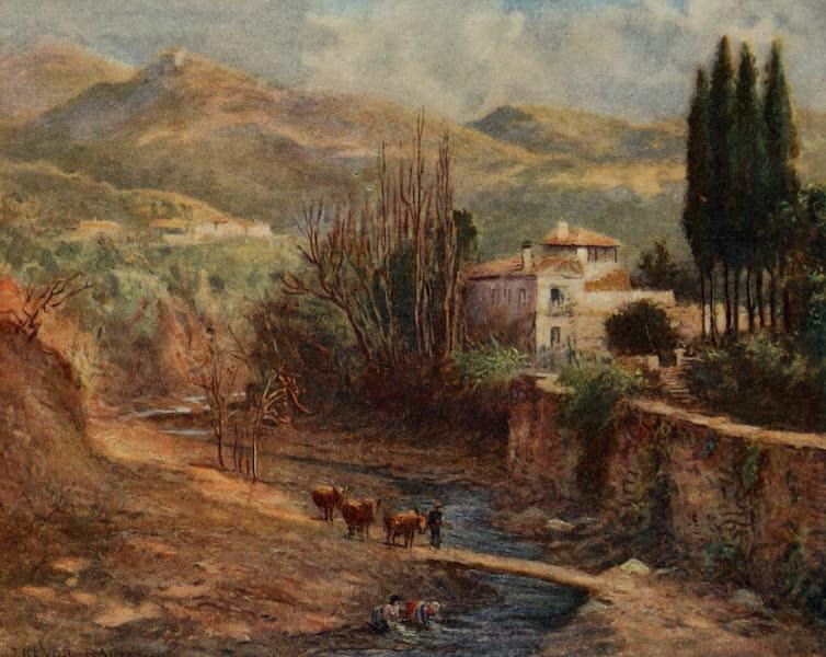 Southern Spain, Painted and Described - Granada - Villa on the Darro (1908)