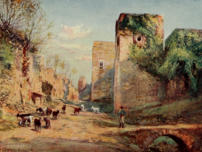 Southern Spain, Painted and Described - Granada - Towers of the Infantas, Alhambra (1908)
