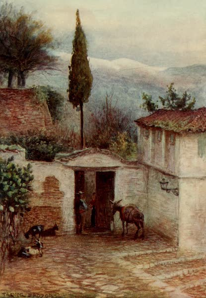 Southern Spain, Painted and Described - Granada - Near the Alhambra (1908)
