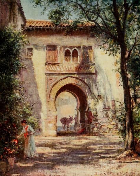 Southern Spain, Painted and Described - Granada - Puerta del Vino, Alhambra (1908)