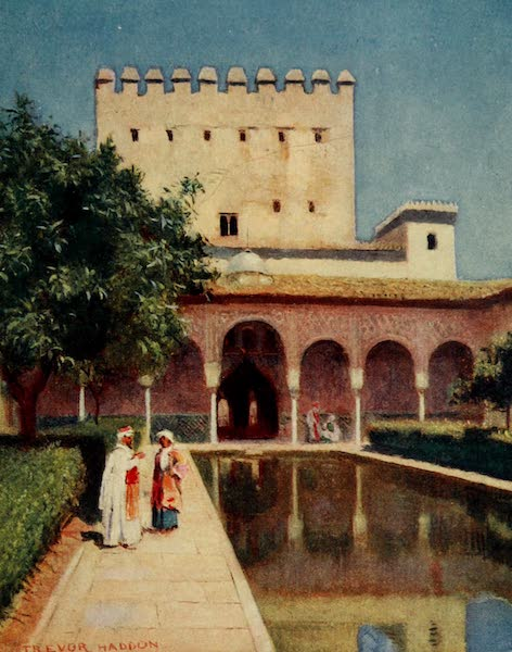 Southern Spain, Painted and Described - Granada - The Alhambra : Tower of Comares (1908)