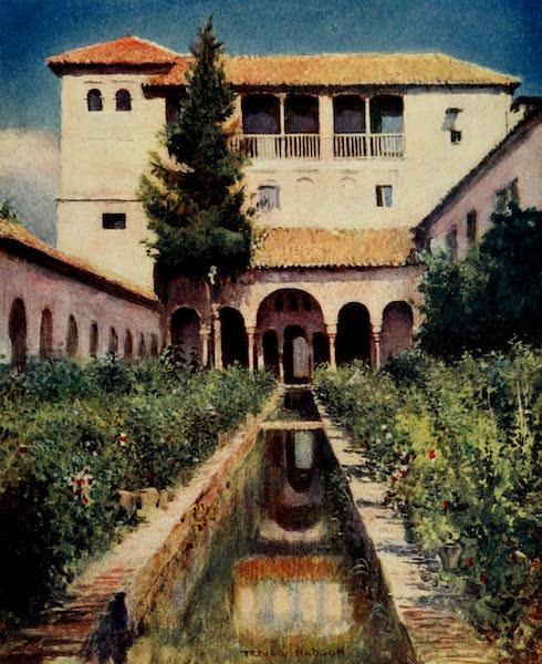 Southern Spain, Painted and Described - Granada - The Generalife : Patio de la Acequia (1908)