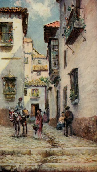 Southern Spain, Painted and Described - Granada - Street in the Albaicin (1908)