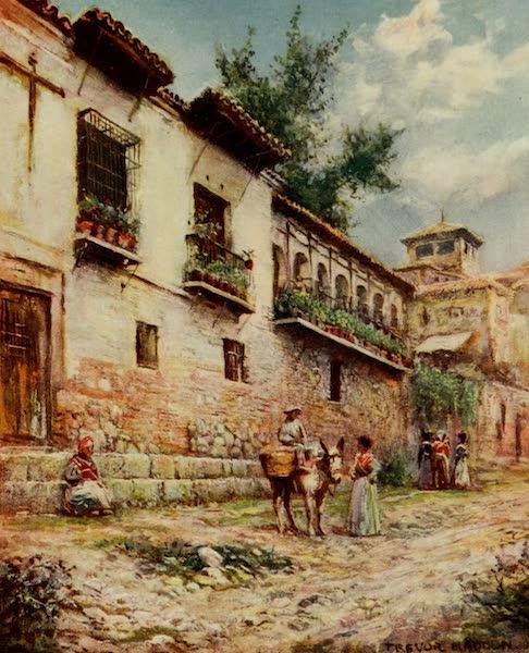 Southern Spain, Painted and Described - Granada - Old Houses, Cuesta del Pescado (1908)