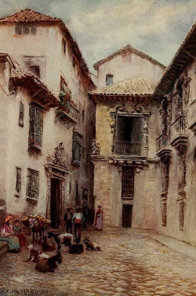 Southern Spain, Painted and Described - Granada - Old Ayuntamiento (1908)