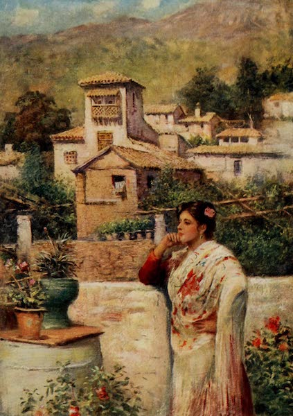 Southern Spain, Painted and Described - Granada - A Corner in the Old Quarter (1908)