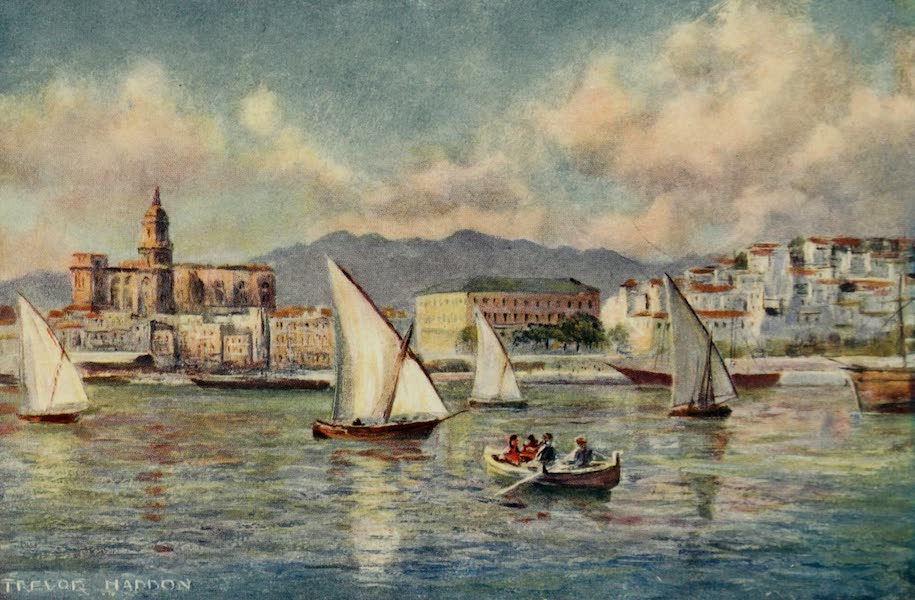 Southern Spain, Painted and Described - Malaga - The Harbour (1908)