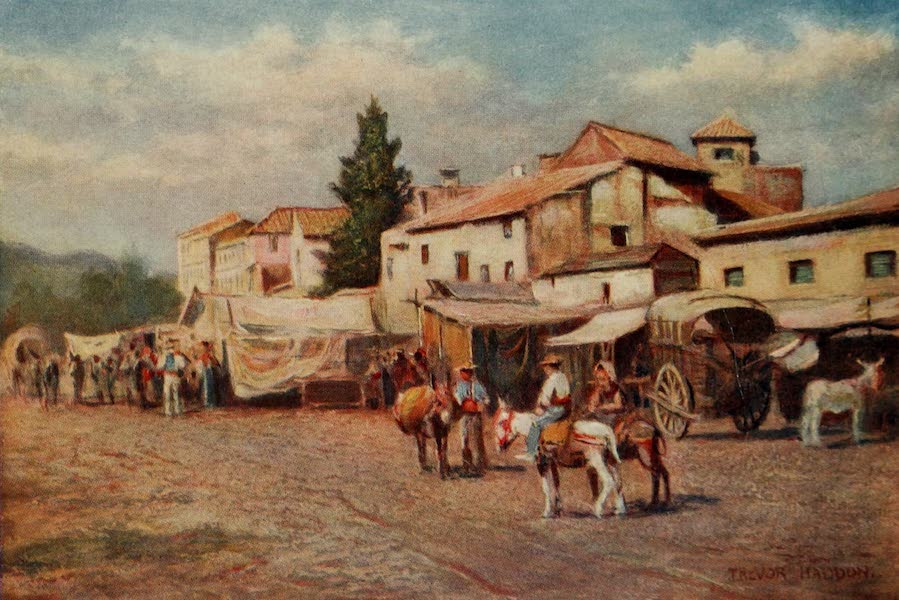 Southern Spain, Painted and Described - Malaga - The Guadalmedina (1908)
