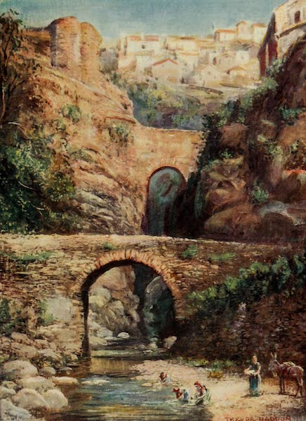 Southern Spain, Painted and Described - Ronda - Roman Bridges (1908)