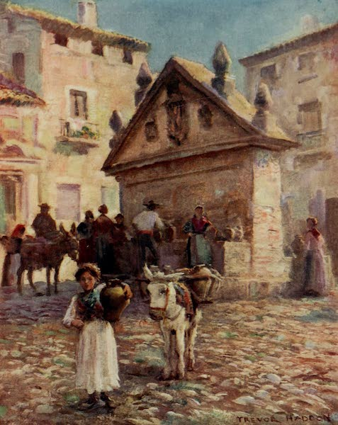 Southern Spain, Painted and Described - Ronda - At the Fountain (1908)