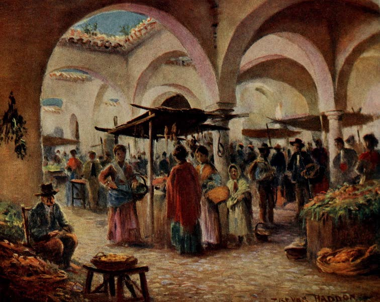 Southern Spain, Painted and Described - Ronda - The Market (1908)