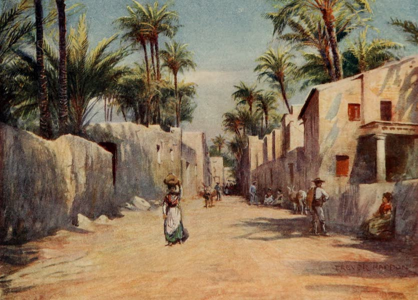 Southern Spain, Painted and Described - Elche - A Street (1908)