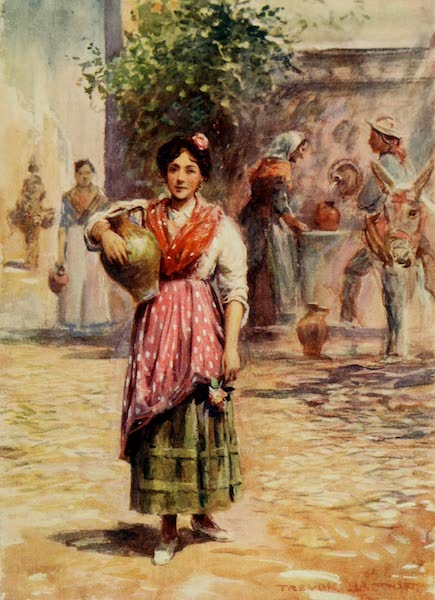 Southern Spain, Painted and Described - A Water Carrier (1908)