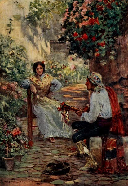 Southern Spain, Painted and Described - Courting (1908)
