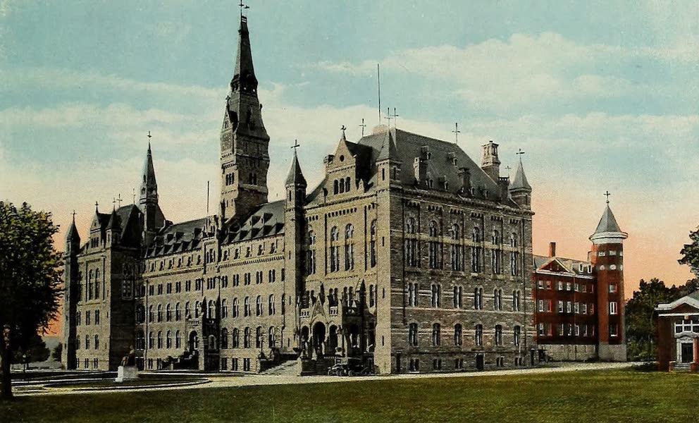 Souvenir Album of Jesuit Colleges and Universities - Georgetown University, Washington. D.C. (1918)
