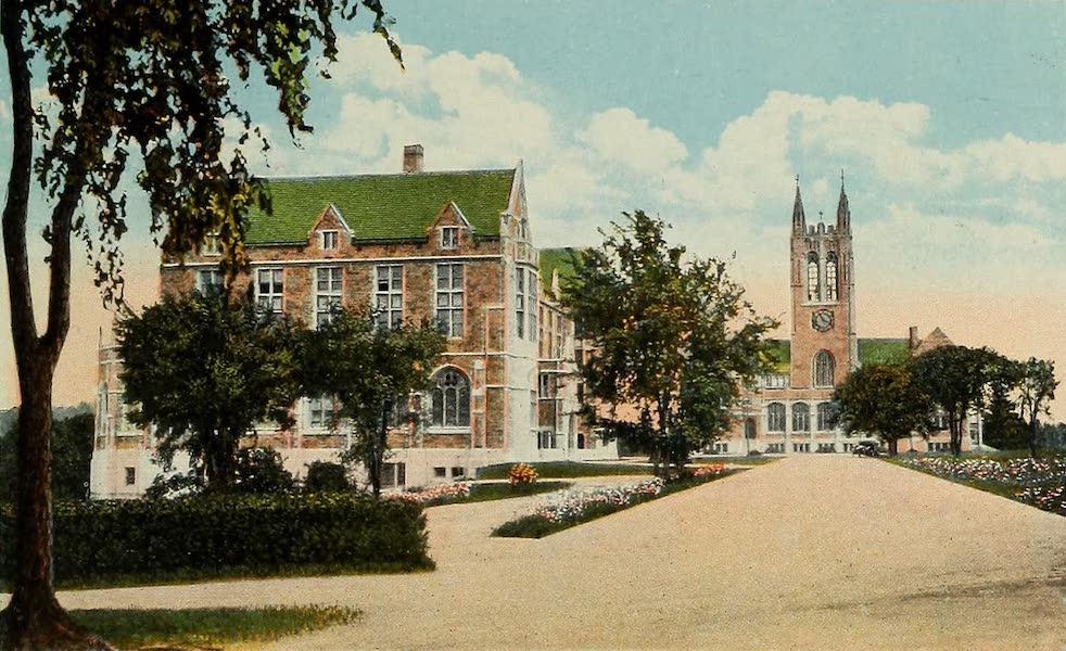 Souvenir Album of Jesuit Colleges and Universities - Boston College, Boston, Mass. (1918)