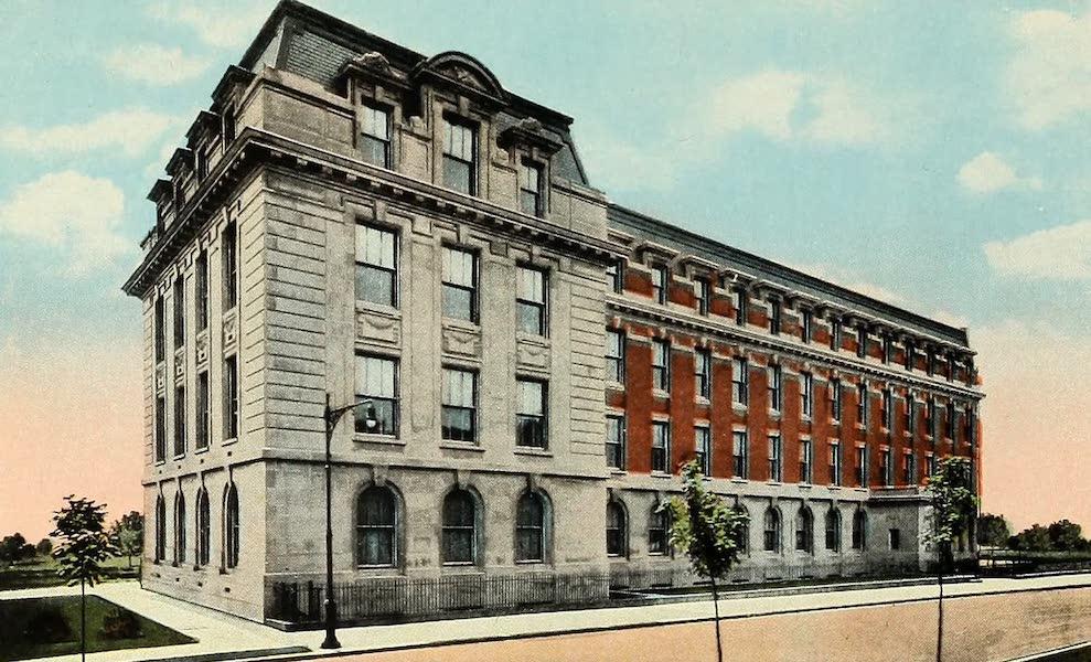 Souvenir Album of Jesuit Colleges and Universities - Brooklyn College, Brooklyn, N.Y. (1918)