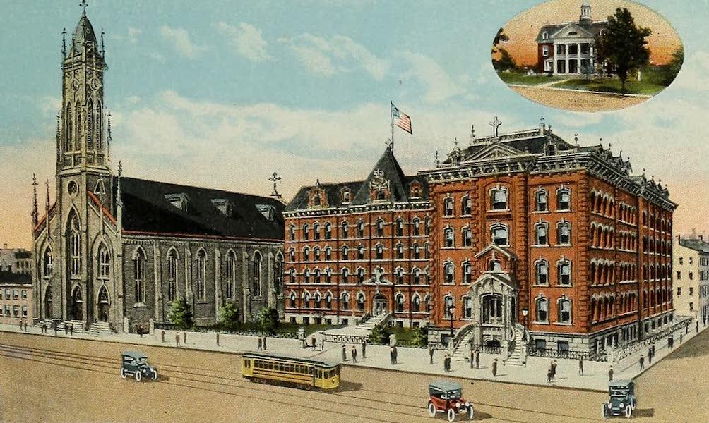 Souvenir Album of Jesuit Colleges and Universities - St. Xavier College and Academy, Cincinnati, Ohio (1918)