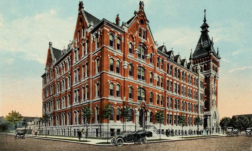 Souvenir Album of Jesuit Colleges and Universities - St. Ignatius College, Cleveland, Ohio (1918)